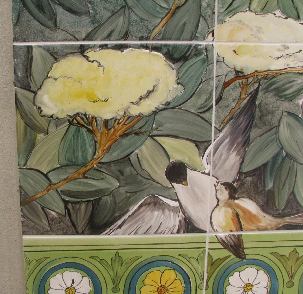Decor Fresque Ceramiques Du Beaujolais Faiences Et Terre Cuite