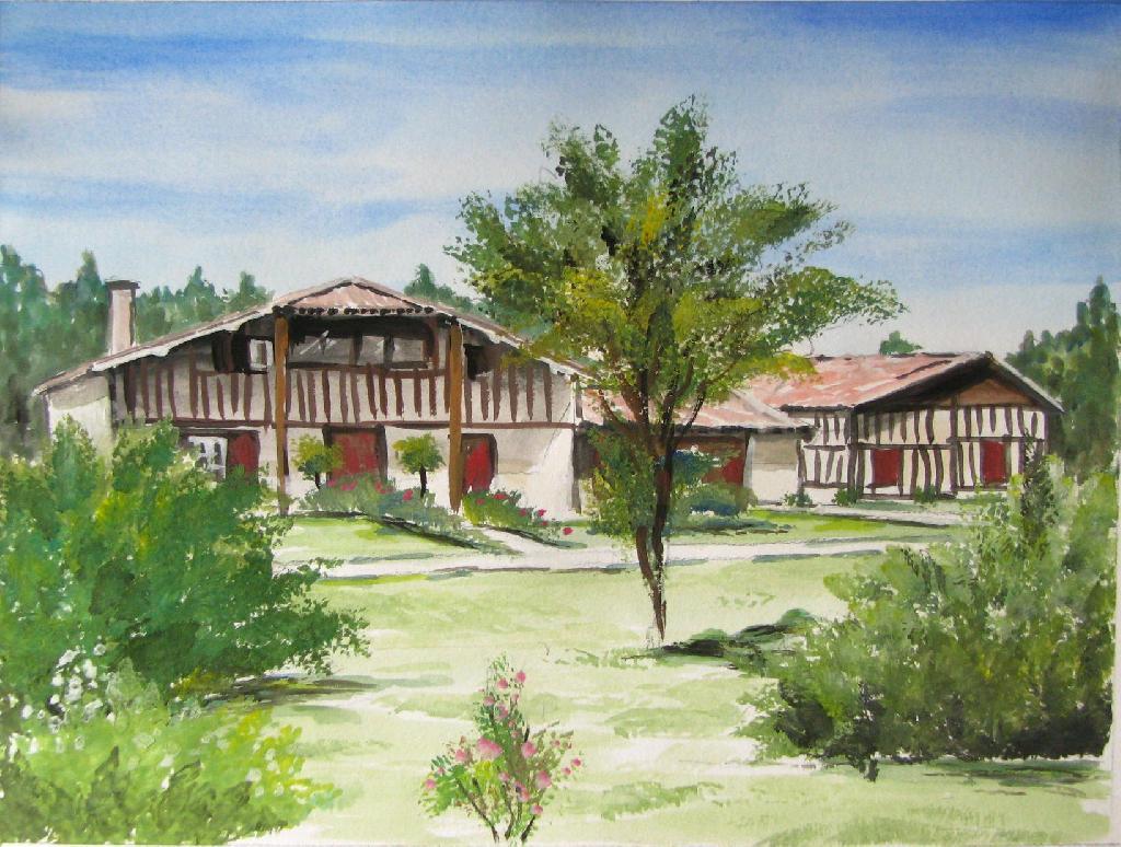 D cor fresque c ramiques du beaujolais fa ences et for Decoration maison landaise