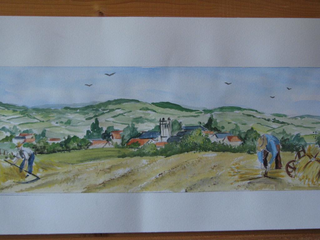 D cor fresque c ramiques du beaujolais fa ences et for Carrelage decoratif mural exterieur