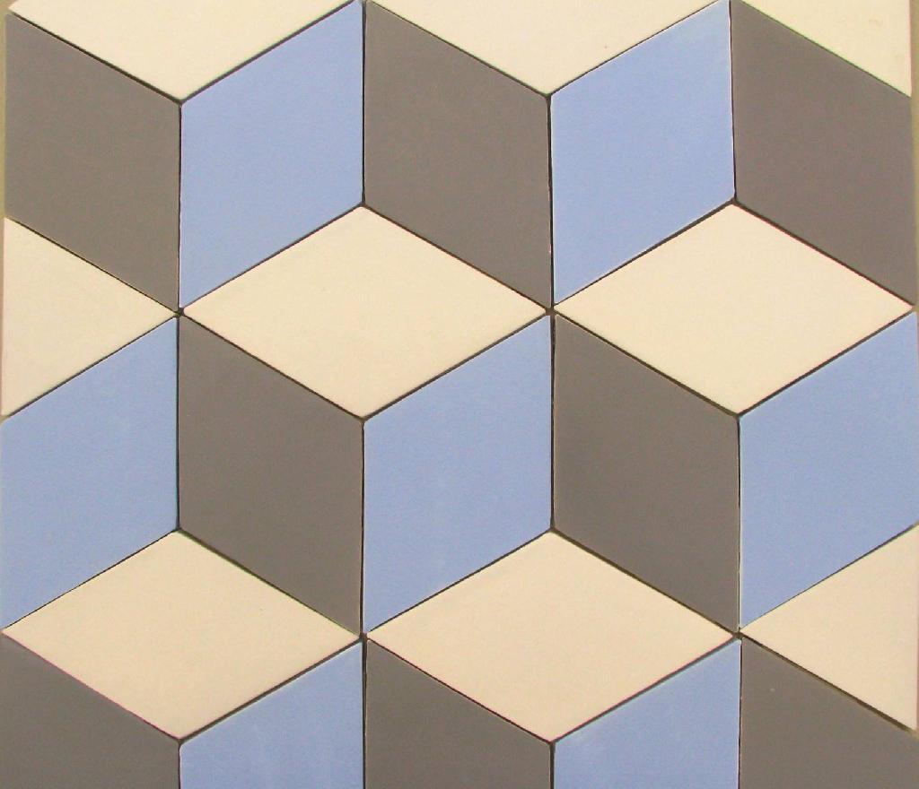 Carrelage mural cuisine et salle de bain c ramiques du for Carrelage hexagonal couleur