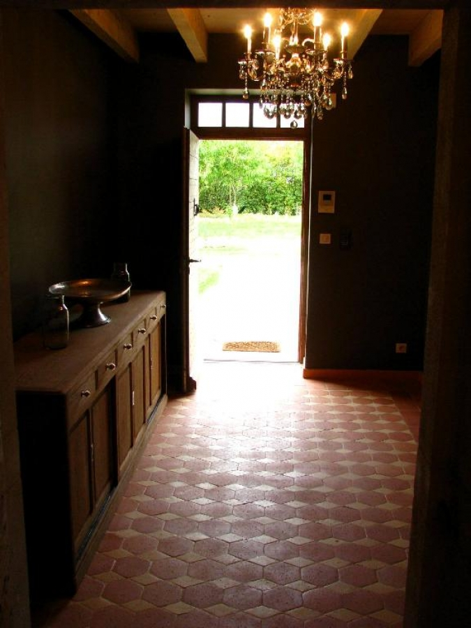 tomette terre cuite tomettes hexagonales c ramiques du beaujolais. Black Bedroom Furniture Sets. Home Design Ideas