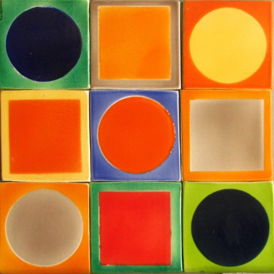 Faience de couleur couleur de salle de bain zen faience for Carrelage 15x15 couleur