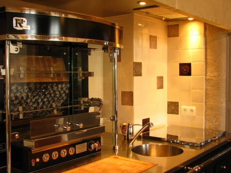 fa ence et carrelage mural de cuisine carreaux artisanaux pour cuisine. Black Bedroom Furniture Sets. Home Design Ideas
