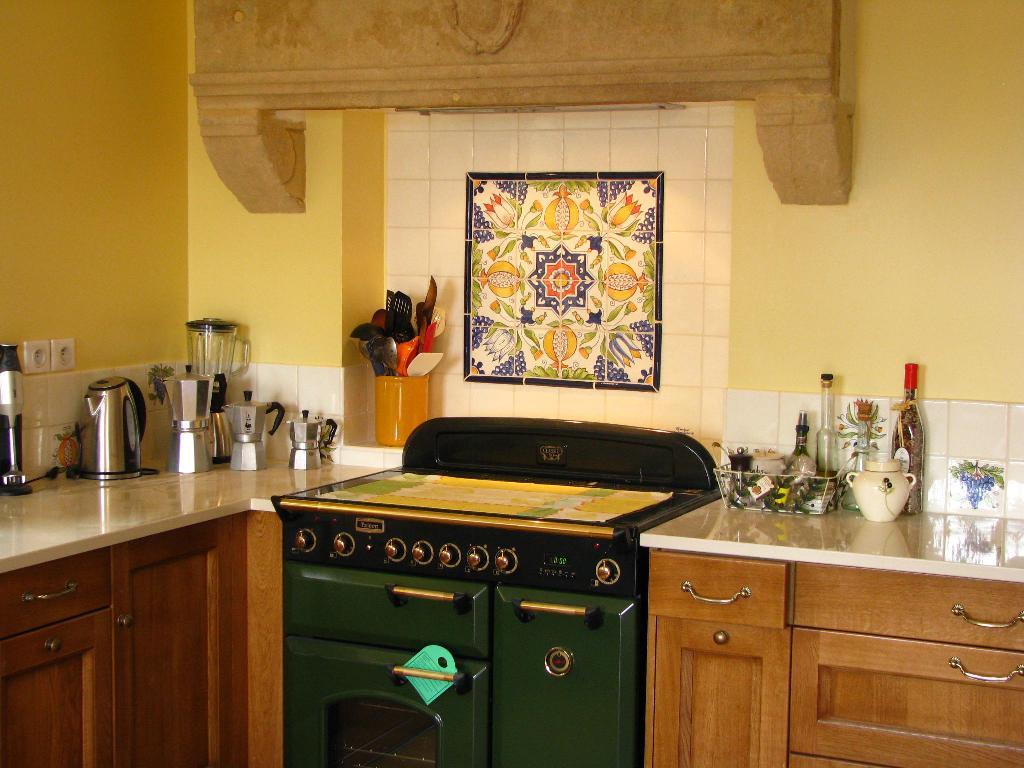 Faience Et Carrelage Mural De Cuisine Carreaux Artisanaux Pour Cuisine